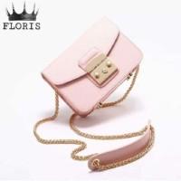 Best Tas Mini Box Floris pink Tas Wanita 0201 RI0 Limited Edition