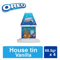 Oreo House Tin - Oreo Vanilla 68.5 x 4 pcs