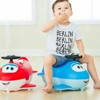 Tempat Pipis Superwings ORI 8801/Alat Buang Air Anak Bayi/Mainan Anak