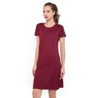 Tumblr Tee T-shirt Kaos Cewe Spandek Premium Dress Wanita 12100034