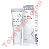 Harga Wardah White Secret Night Cream 17ml Katalog.or.id