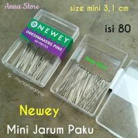 Mini Jarum Pentul Paku Premium Newey isi 80