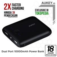 Aukey PB-N42 Pocket Powerbank 10000mAh - Hitam