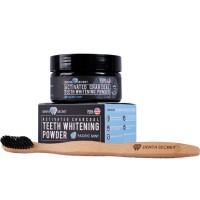 Denta Secret plus sikat gigi pemutih gigi black charcoal powder murah