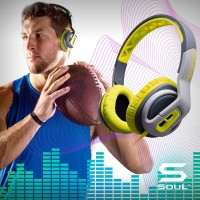 TRANSFORM Active Performance On-Ear Sport Headphone SOUL KEBUT