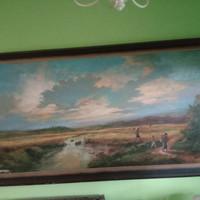 Jual Lukisan Realis Naturalis Pemandangan Alam Karya Pelukis Raden
