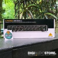 Soundcard Behringer UMC404HD ( UMC 404 HD )with MIDAS Preamp