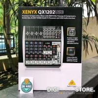 Mixer Behringer QX1202USB ( QX 1202 USB ) with Soundcard for Recording