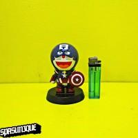 Pajangan Solar Figure Doraemon Captain Us A