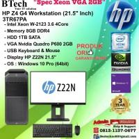 HP Z4 G4 Workstation - 3TR67PA Xeon W-2123/8GB/1TB/VGA 2GB/W10PRO/3YR