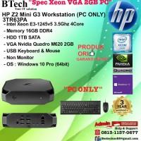 HP Z2 Mini G3 WorkStation - 3TR63PA Xeon E3-1245v6/16GB/1TB/W10PRO PC