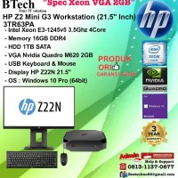 HP Z2 Mini G3 WorkStation - 3TR63PA Xeon E3-1245v6/16GB/1TB/W10PRO/3YR