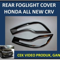 Rear Foglight Cover Honda All New CRV