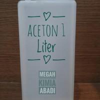 Aseton aceton asseton pembersih cat kuku kutek noda 1 liter