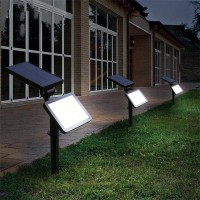 Lampu Taman Super Bright Energi Solar Panel 48 LED - TS-G0202