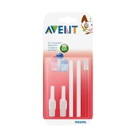 Jual Philips Avent Replacement Silicone Straws + Brush-SCF764/00 Murah