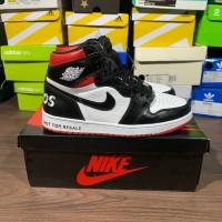 297f3ea893f Sepatu Nike Air Jordan 1 Retro NRG Not For Resale Black White Red