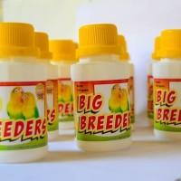 Big Breeder. Vitamin Penyubur Indukan Burung 50 gram Lovebird Rumah