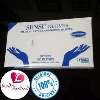 Sarung Tangan Sensi Gloves Examination Latex