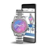 Guess Connect C1003L3 Jemma Smartwatch - Jam Tangan Wanita - Silver