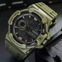 Jam Tangan Pria Digitec Original Dual Time Aktif - Lamborghini Guess