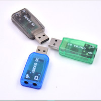 Sound Audiocontroller - USB Soundcard Adapter (Mic & Speaker) - HLP007