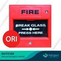 Fire Alarm Manual Breakglass Notifier M400K