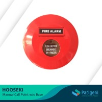 Fire Alarm Manual Call Point Hooseki HS-FP1 w/o Base