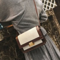 tas pergi santai mall fashion tas import selempang wanita coffee