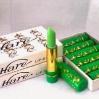 Best Lipstick Lipgloss Hare Hijau Lipstik Arab Halal Pelembab Bibir