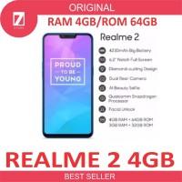 RealMe 2 Ram 4GB Internal 64GB- Garansi Resmi OPPO Real Me 2