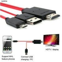 Kabel HDMI HDTV Micro MHL Kabel Hp ke Tv Kabel Handphone ke Tv Support