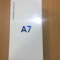HP laris Handphone Samsung Galaxy A7 2018 triple Kamera Ram 4 Rom 64