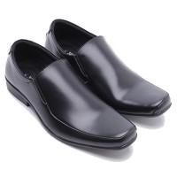 Dr. Kevin Sepatu Formal Pria 13197 Hitam- Sepatu Kulit - Sepatu Kerja