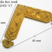 Siku Besi / siku lemari / ornament siku besi antik SOA102 (2431 L)