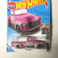 HOT WHEELS 52 CHEVY PINK