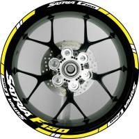 stiker velg motor wheel sticker Suzuki Satria F150 ring 17