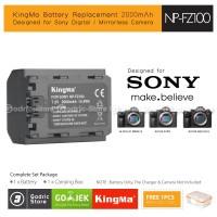 KingMa Baterai NP-FZ100 Sony Alpha Battery A7Riii A7iii A9 A9A7M3 Etc