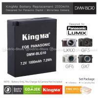 KingMa Baterai DMW-BLG10 BLE9 Panasonic LUMIX GF3 GF5 GF6 GX7 GX85 Etc