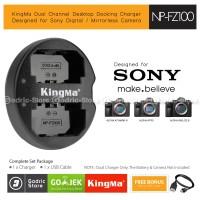 KingMa Charger NP-FZ100 for Sony Alpha A7Riii A7iii A9 A9A7M3 Etc