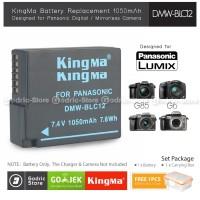 KingMa Baterai DMW-BLC12 Panasonic G5 G6 G7 G80 FZ200 FZ300 FZ1000 Etc
