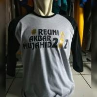 tshirt/kaos/raglan reuni akbar 212 mujahid