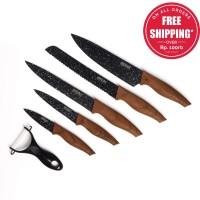 IDEALIFE - Knife Set - Perlengkapan Pisau Dapur - IL-161