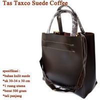 Tas Murah Kulit Suede Taxco COFFEE