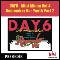 DAY6 Remember Us : Youth Part 2 [The 4th Mini Album]