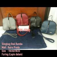 sling bag oval rumbe tas murah tas mini