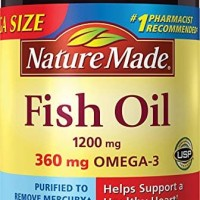 Nature Made Fish Oil 1200 mg, 200 Softgels.