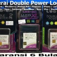 Baterai Log on Smartfren Mifi M2P Modem - Batre Double Power O