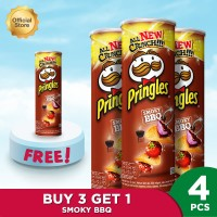 Pringles Smoky BBQ 107gr (4 Pcs)