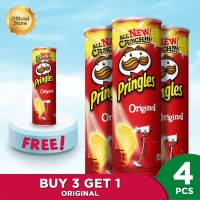 Pringles Original 107gr Package (4 Pcs)